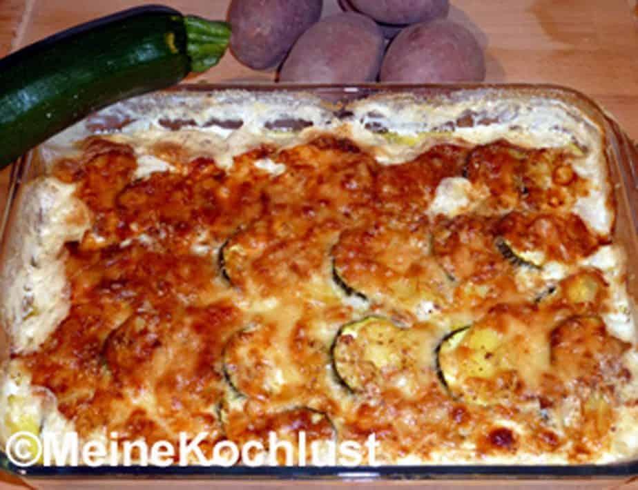 Kartoffel-Zucchini-Gratin