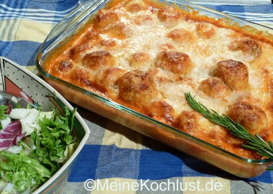 Überbackene Kräutergnocchi mit Paprikaschaum - Meine Kochlust