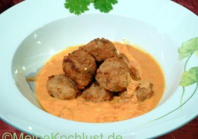 Gemüsebällchen in Sauce - Sabji Kofta