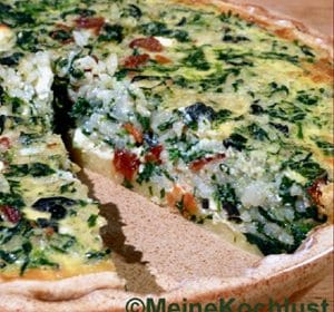 Pilaw-Spinat-Quiche