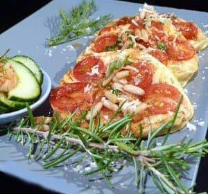 Tomaten-Pancakes