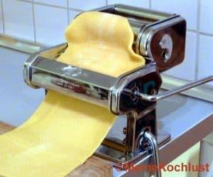 Nudelmaschine für selbstgemachte Ravioli