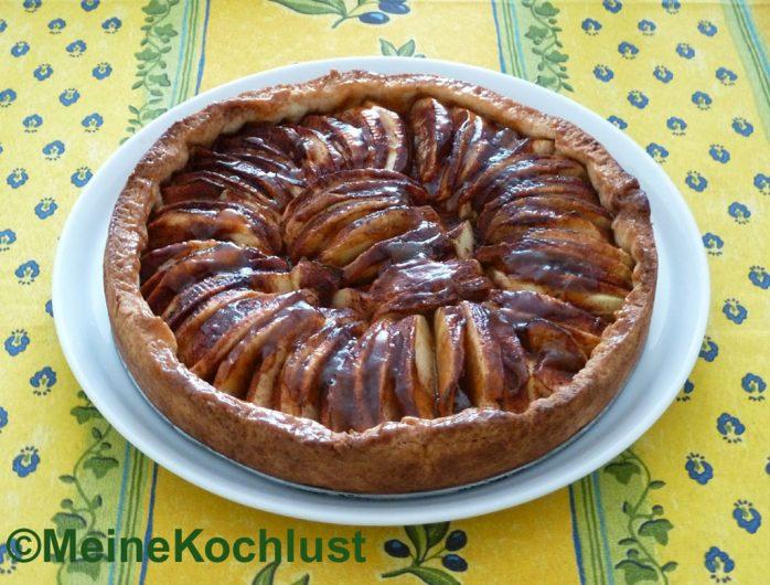 Spanischer Apfelkuchen - tarta de manzana