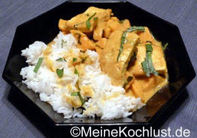 Gericht Süsskartoffel-Curry