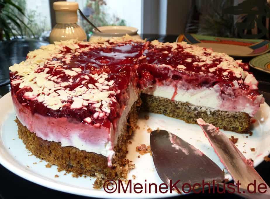 Himbeer Mascarpone Torte Ein Wahnsinn Meine Kochlust